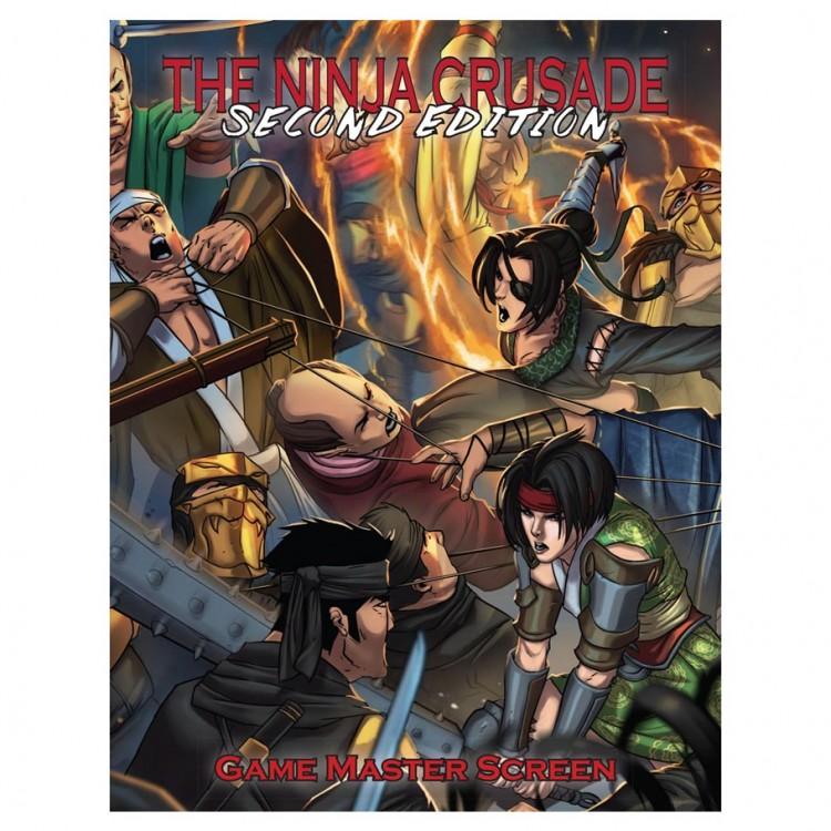 The Ninja Crusade 2E: GM Screen