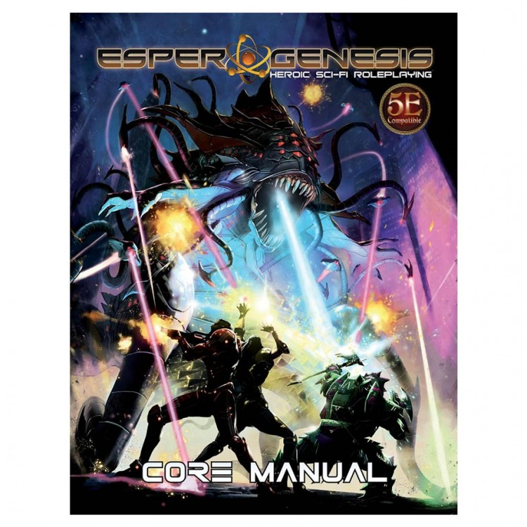 D&D 5E: Esper Genesis: Core Manual