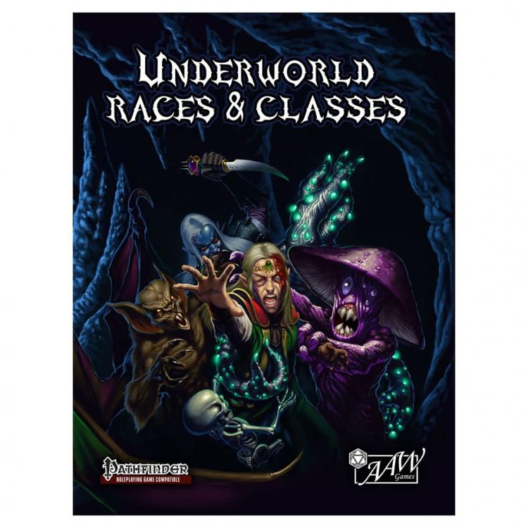 PF: Underworld Races & Classes