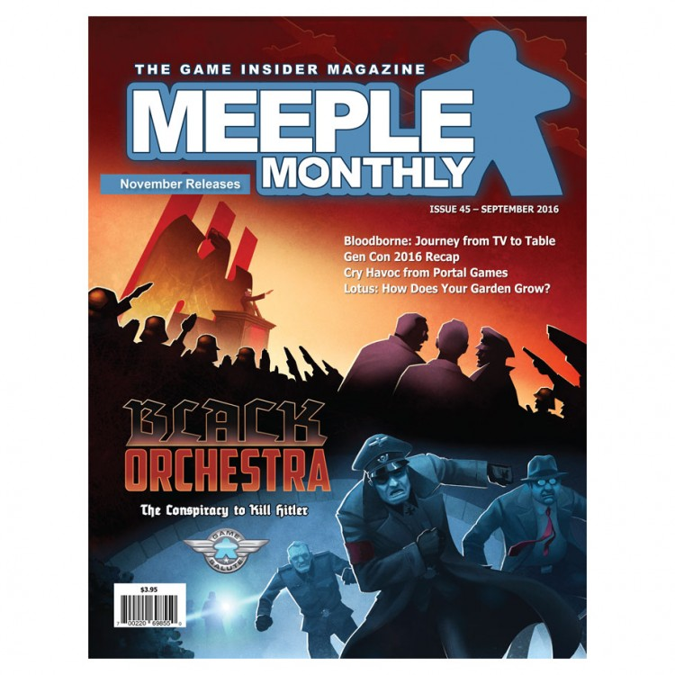 Meeple Monthly Issue 45 September 2016