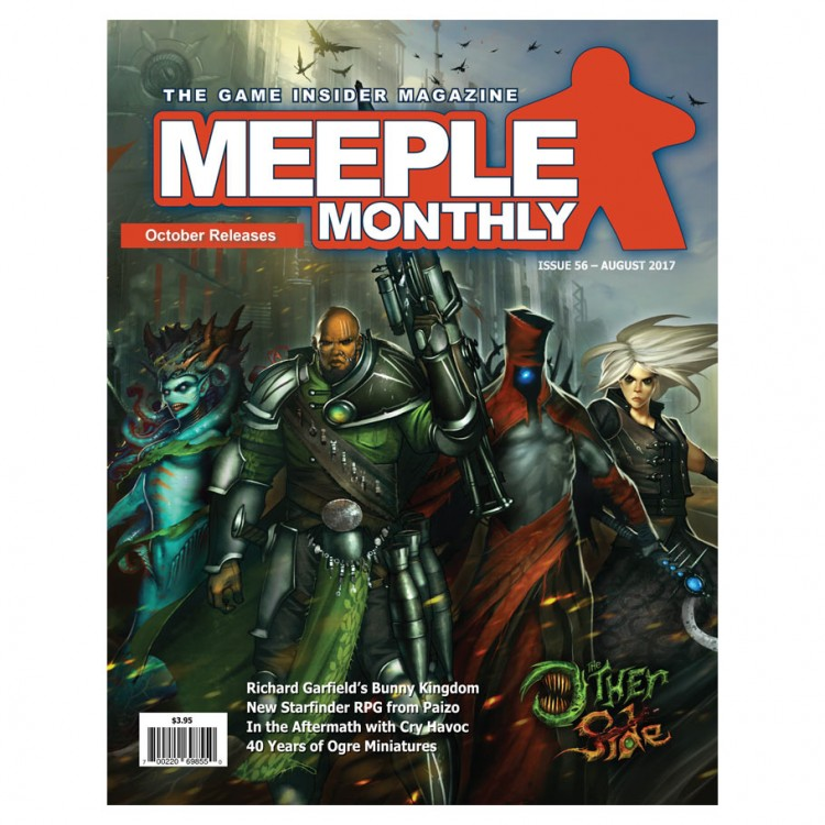 Meeple Monthly Issue 56 August 2017