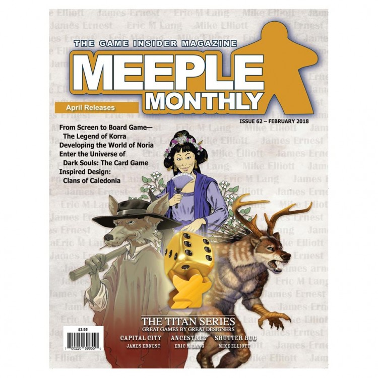 Meeple Monthly Issue 62 February 2018