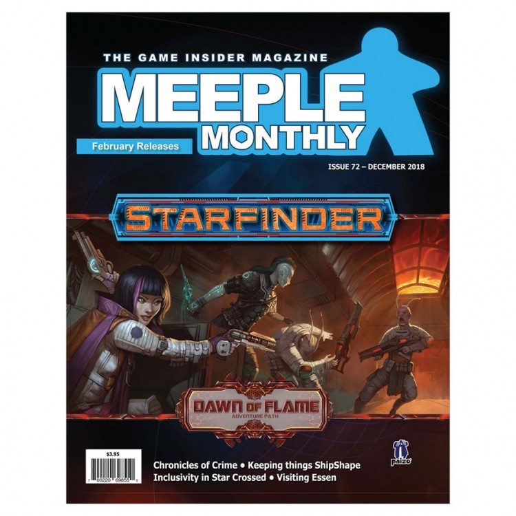Meeple Monthly Issue 72 December 2018