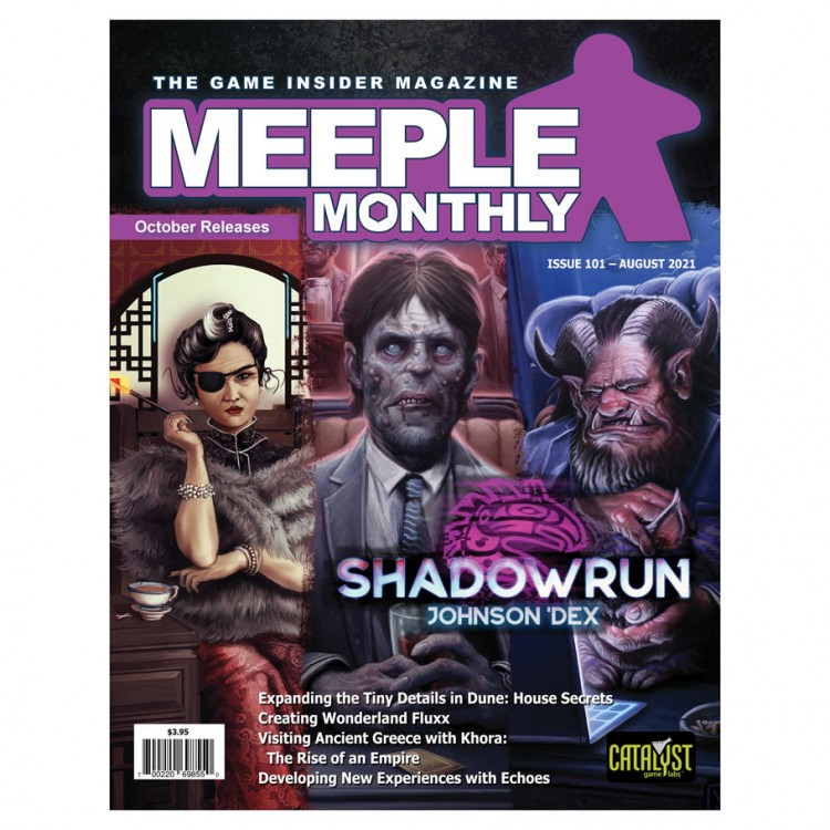Meeple Monthly Issue 101 August 2021