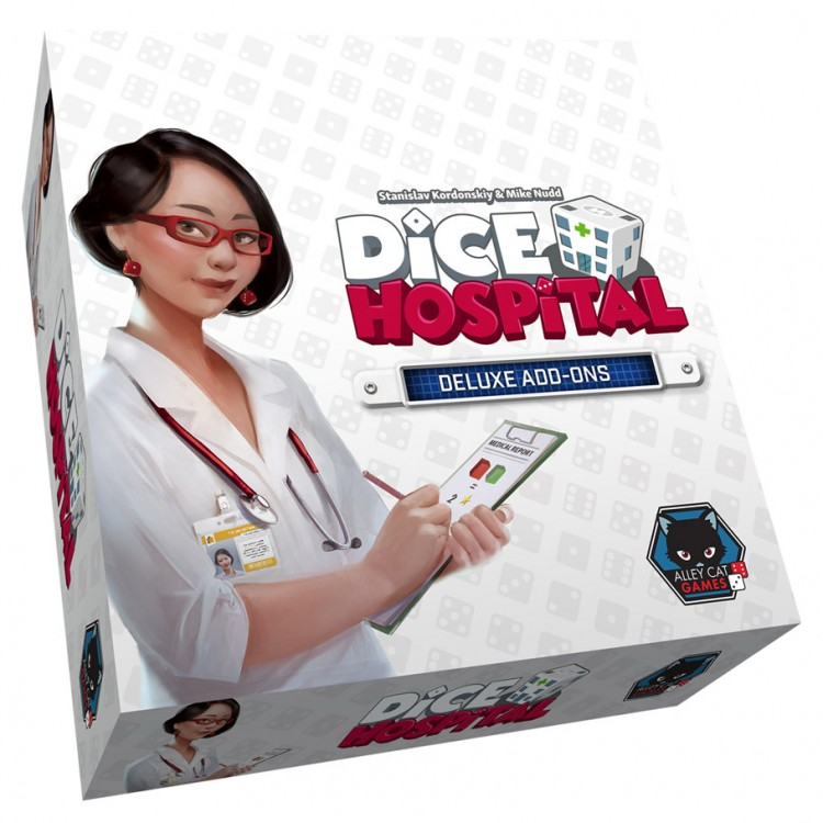 Dice Hospital Deluxe Add-Ons Box