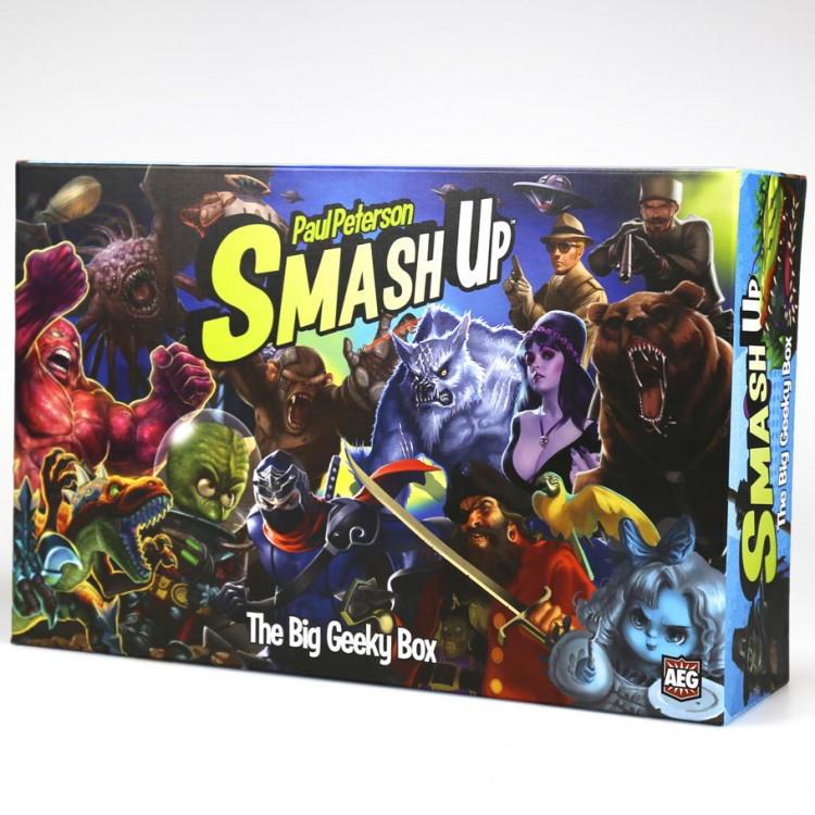 Smash Up: Big Geeky Box