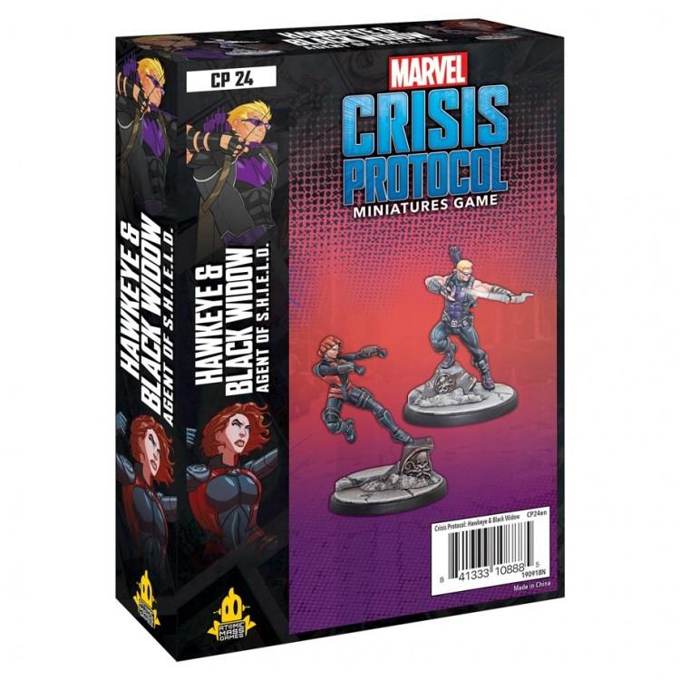 Marvel CP: Hawkeye and Black Widow