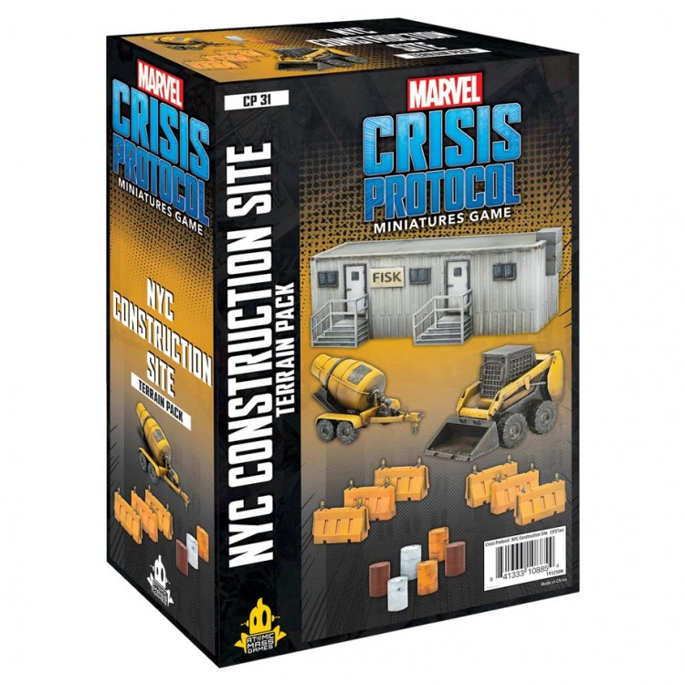 Marvel CP: NYC Construction Terrain Pack