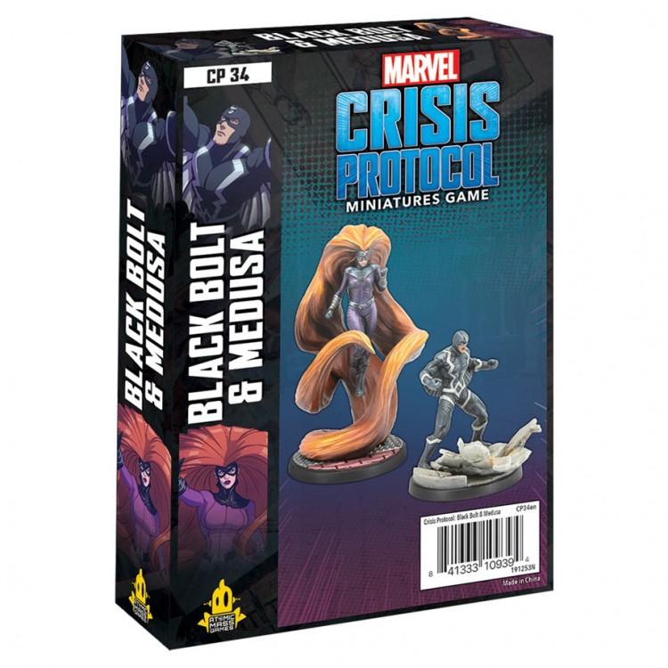 Marvel CP: Black Bolt and Medusa Pack