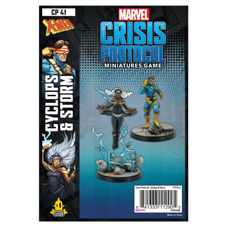 Marvel CP: Storm and Cyclops Pack