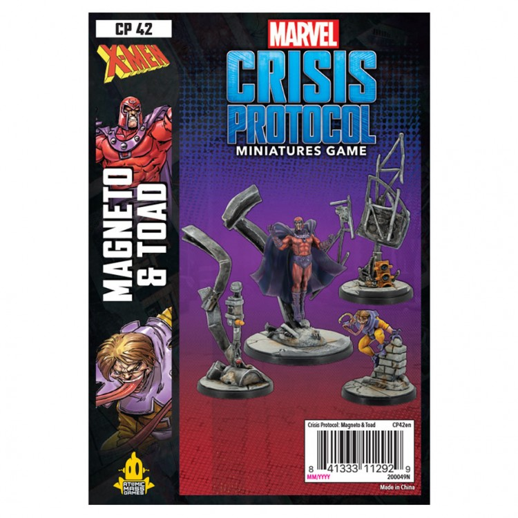 Marvel CP: Magneto and Toad Pack