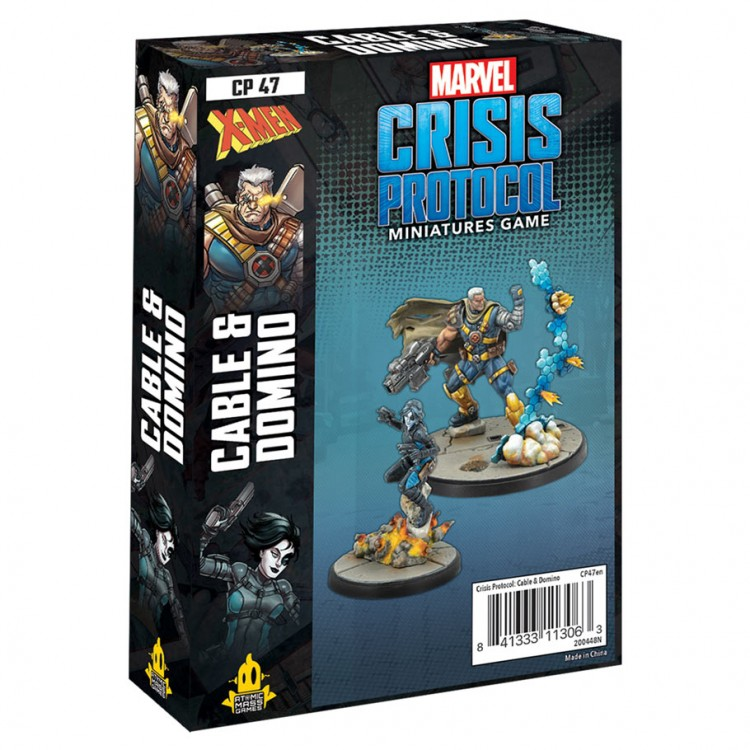 Marvel CP: Domino & Cable Character Pack