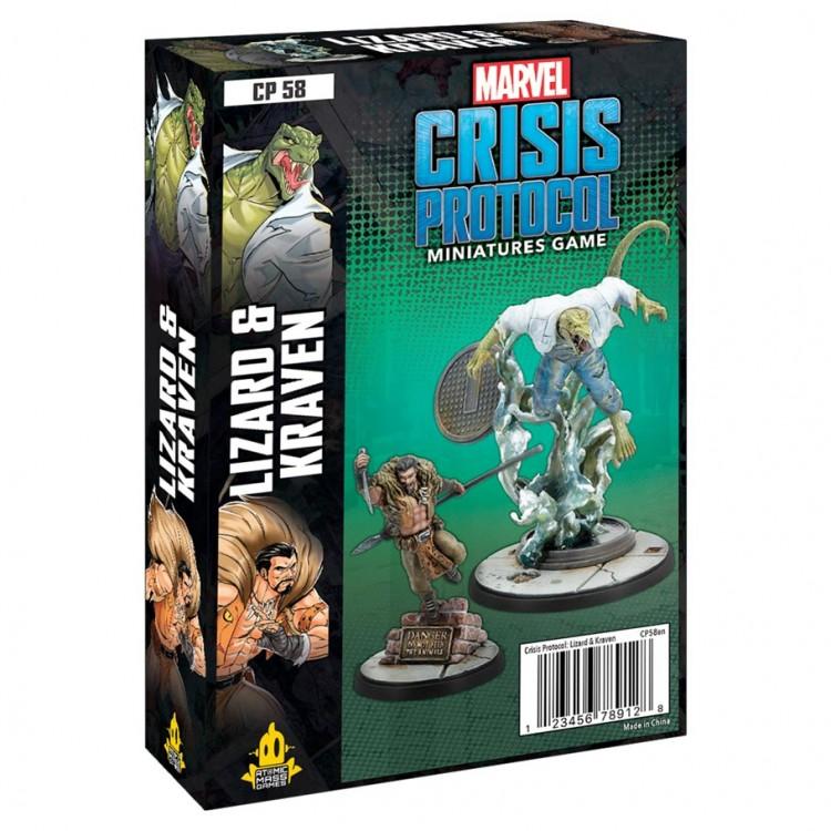 Marvel CP: Lizard & Kraven Pack