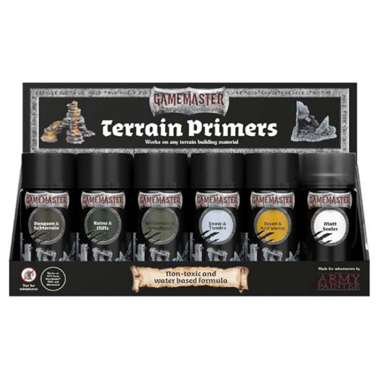 Gamemaster: Terrain Primer: Display Pack