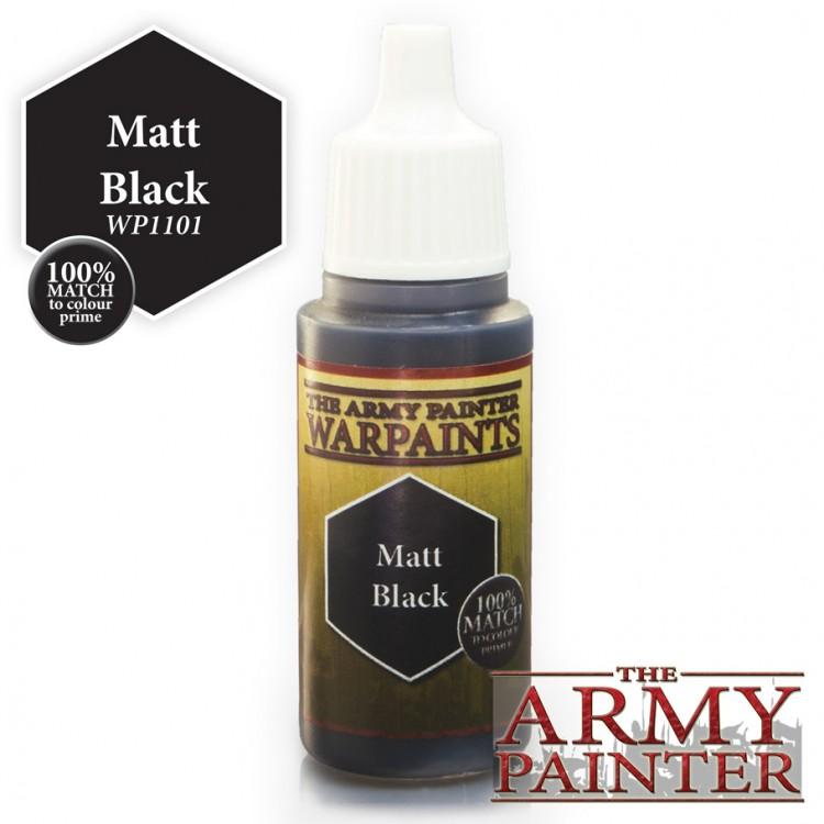 Warpaints: Matt Black (18ml/0.6oz)