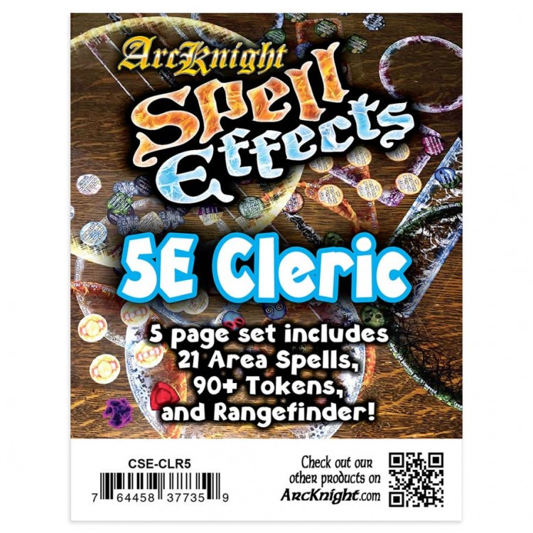 5E: Spell Effects: Cleric