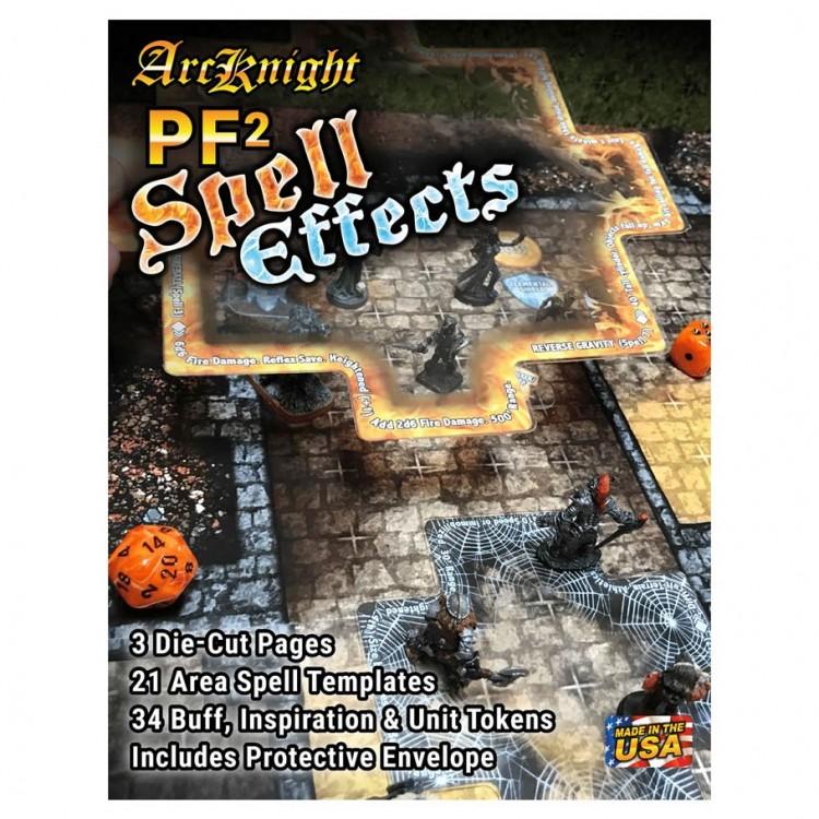 Arcknight PF2 Spell Effects