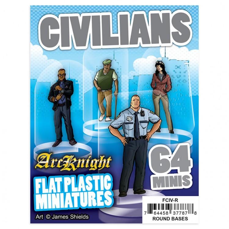 Flat Plastic Minis: Civilians