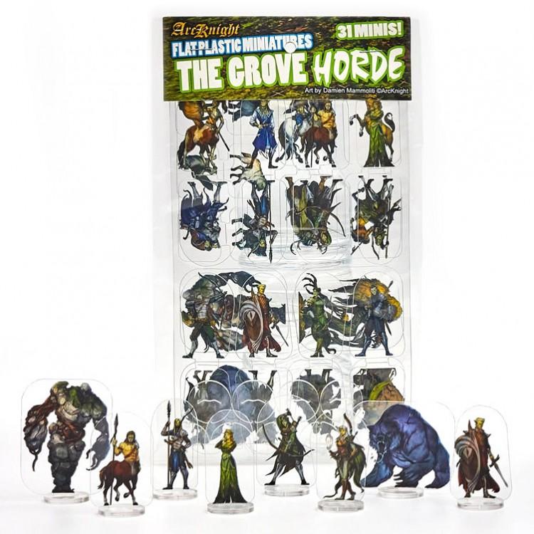 Flat Plastic Mini: Grove Horde