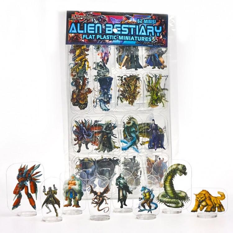 Flat Plastic Mini: Alien Bestiary