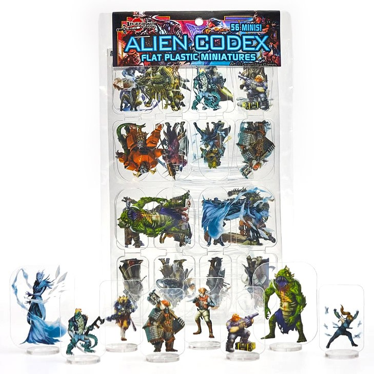 Flat Plastic Mini: Alien Codex