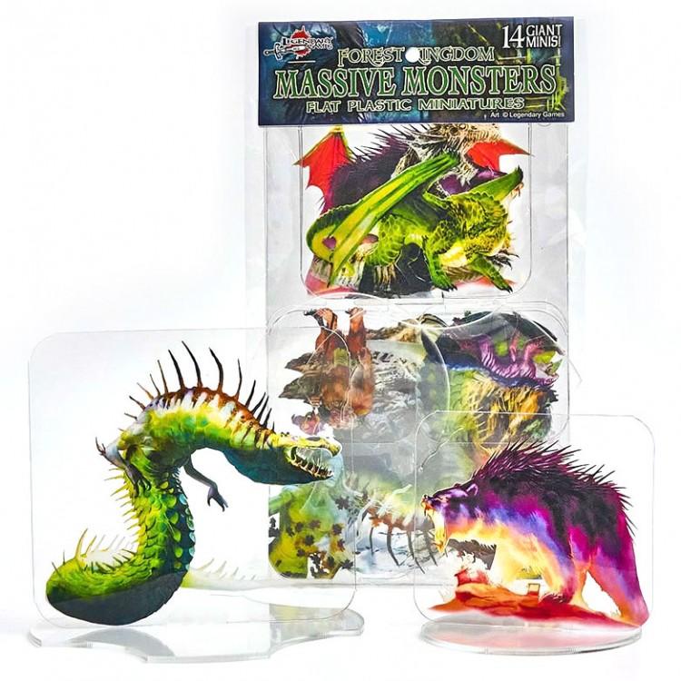 Flat Plastic Mini: Forest Kingdoms