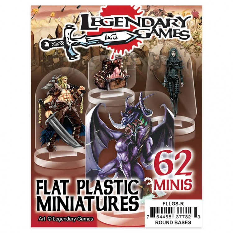 Flat Plastic Minis: Legendary Games'