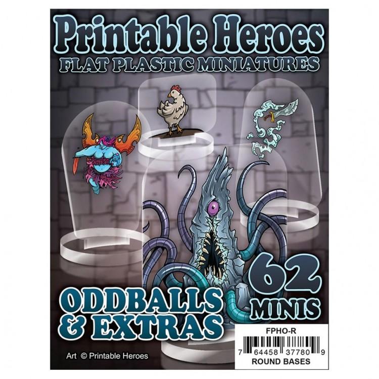 Flat Plastic Minis: Print: Oddballs