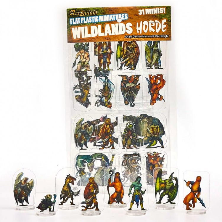 Flat Plastic Mini: Wildlands Horde