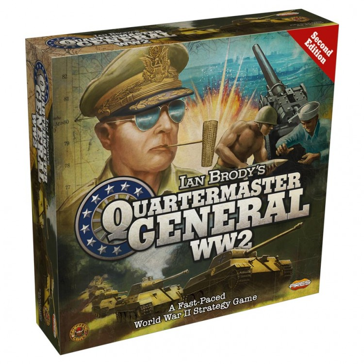 Quartermaster General WW2 2nd Ed