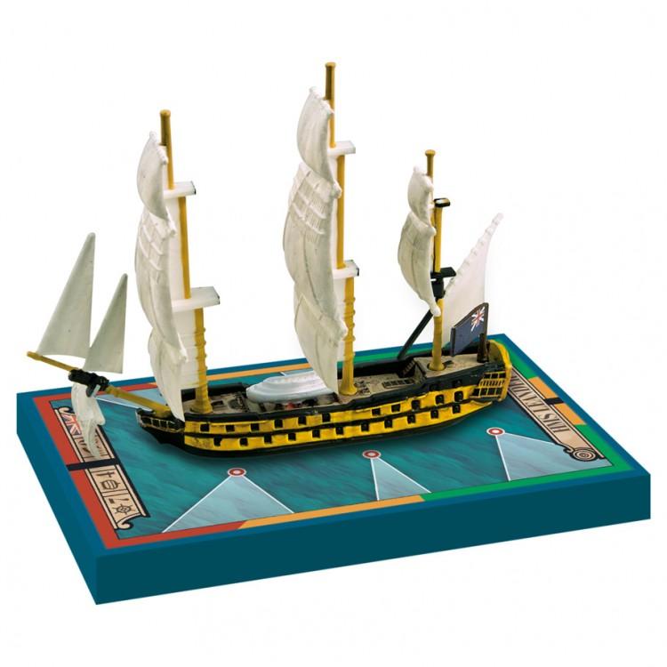 SGN: HMS Leander 1780 / HMS Adamant 1780