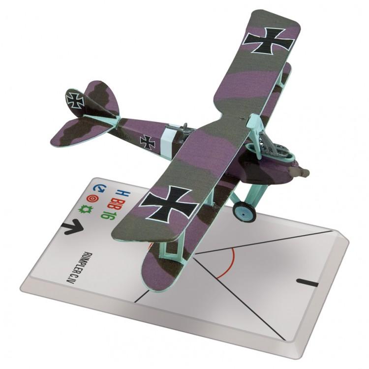 WG: WW1: Rumpler C.IV (Luft. 8256)