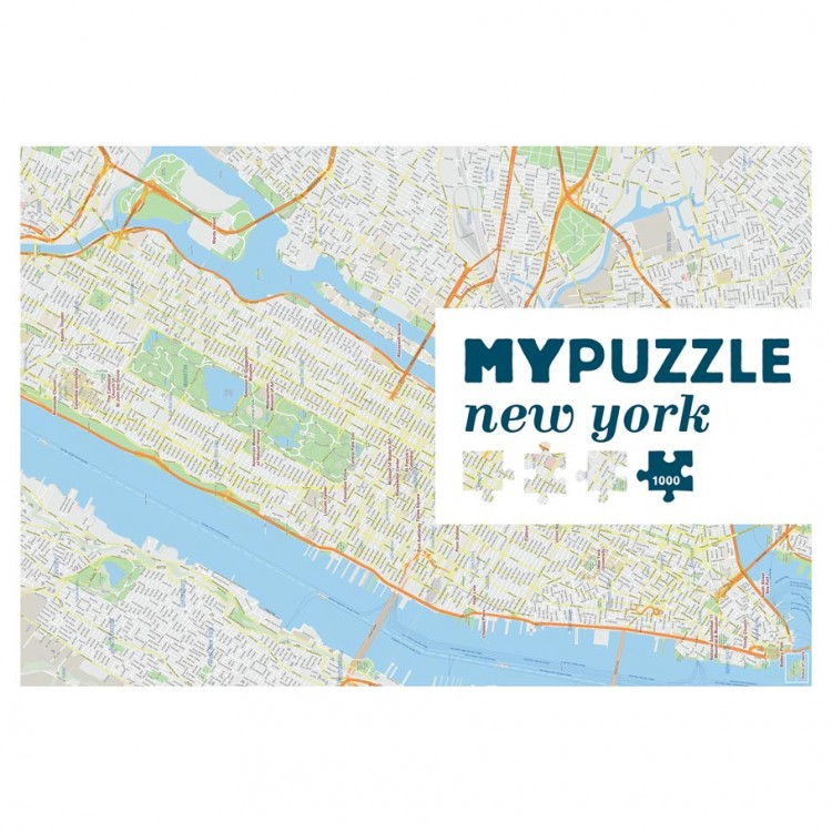 Puzzle: My Puzzle: New York City 1000pc