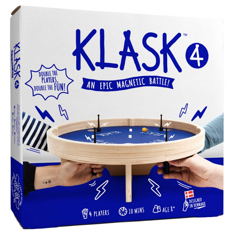 Klask 4-Player Game