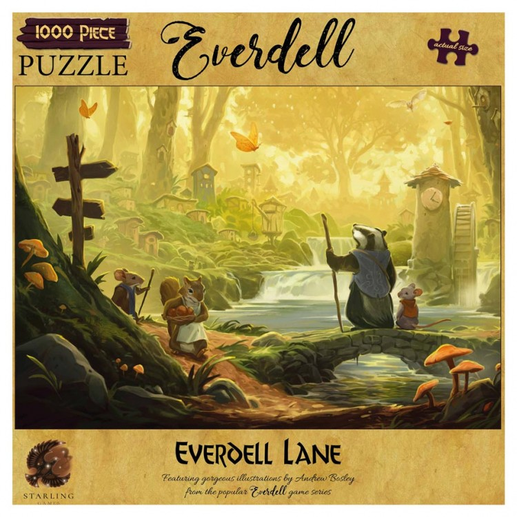 Puzzle: Everdell: Everdell Lane 1000pc