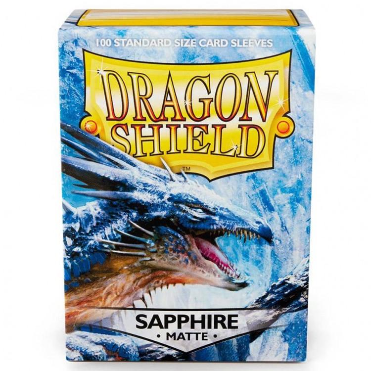 DP: Dragon Shield: Matte Saphire (100)
