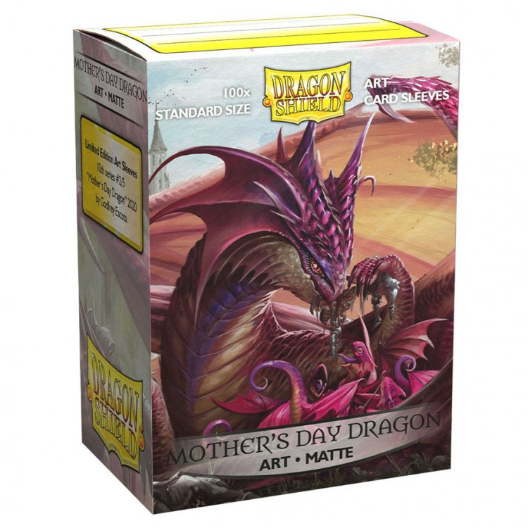 DP: DS: Art: Matte MotherDay Dragon(100)