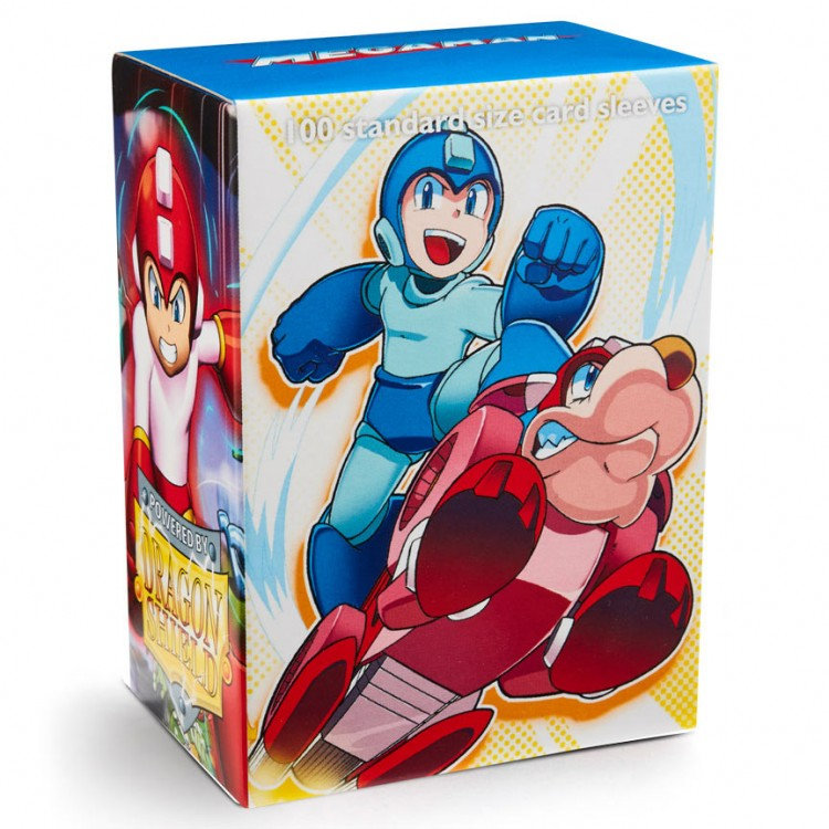 DP: DS: Art: Mega Man & Rush (100)