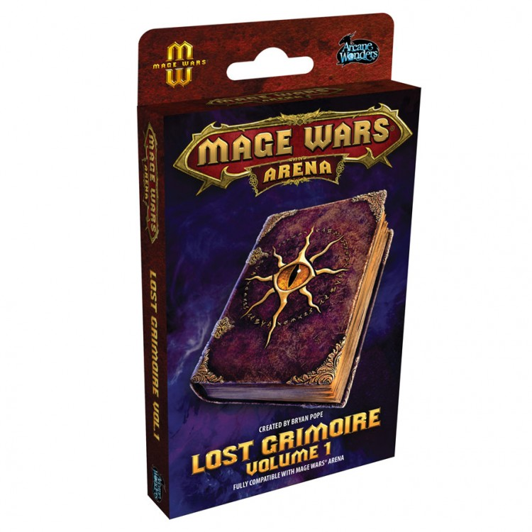 Mage Wars: Arena: Lost Grimoire V1