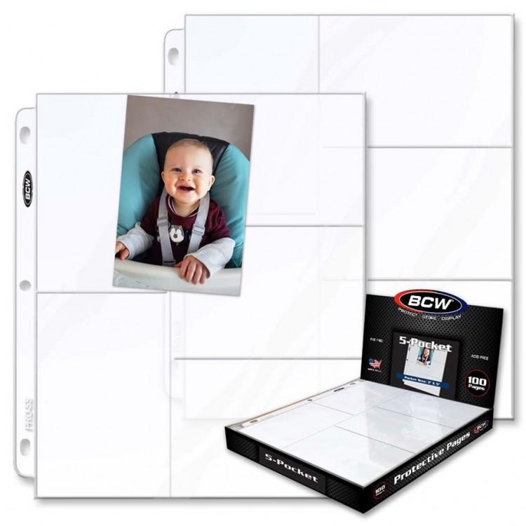 Page: 5pkt: Pro: Photo Pages 100ct