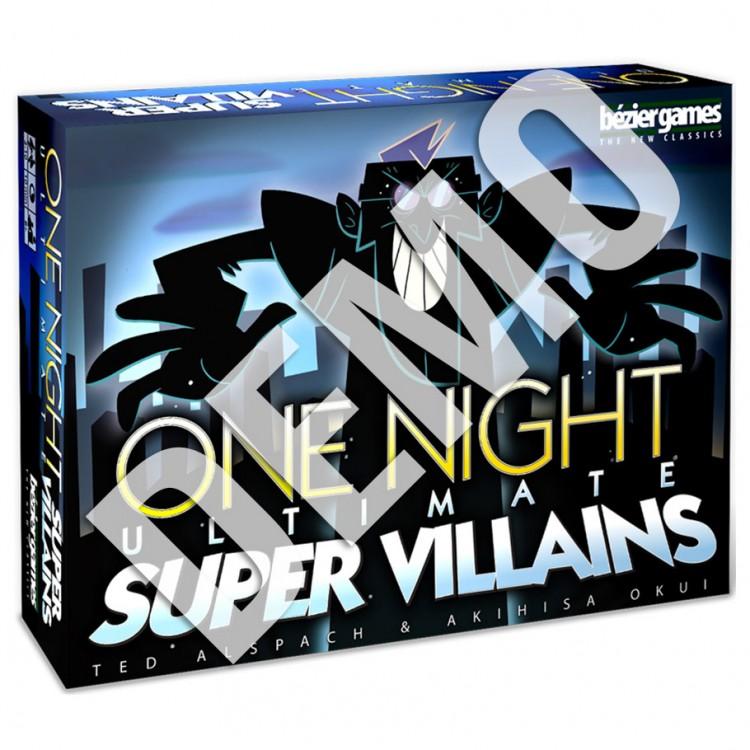 One Night Ultimate Super Villains Demo