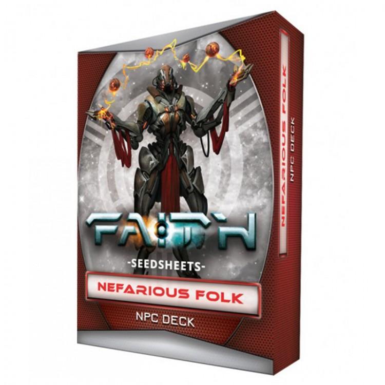 FAITH: Nefarious Folk - Gear Deck
