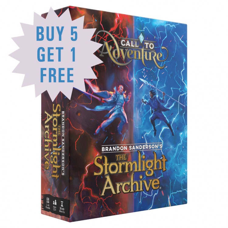 CtA: Stormlight Archive Launch Promo