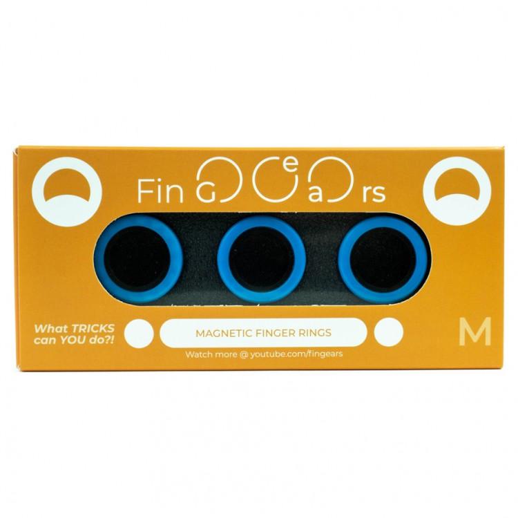 FinGears: Medium Blue-Black