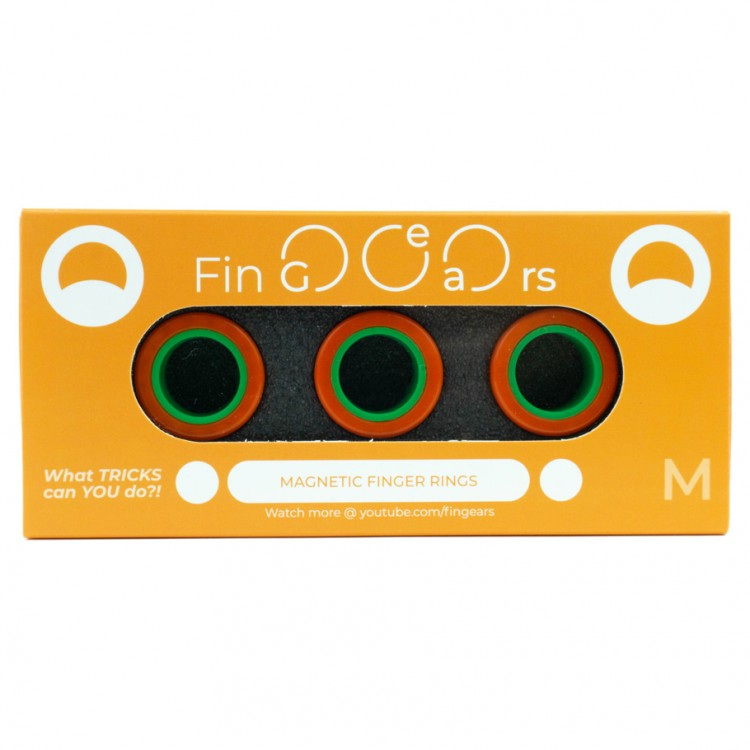 FinGears: Medium Orange-Green