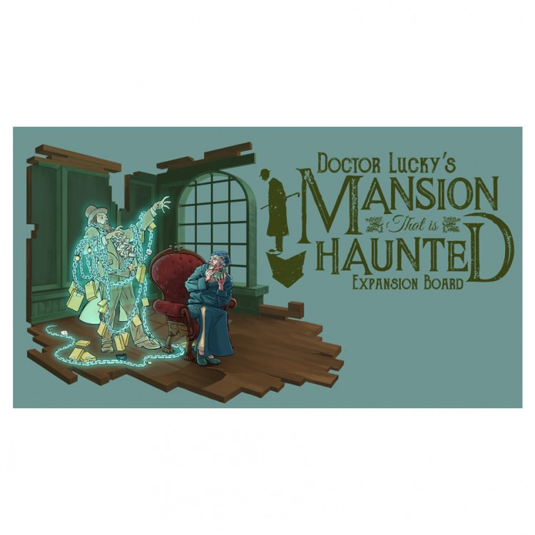 Doctor Lucky: Mansion Haunted Board