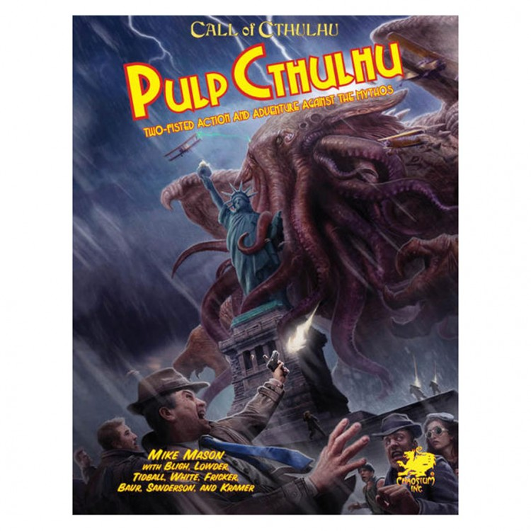 Pulp Cthulhu 7th Ed.