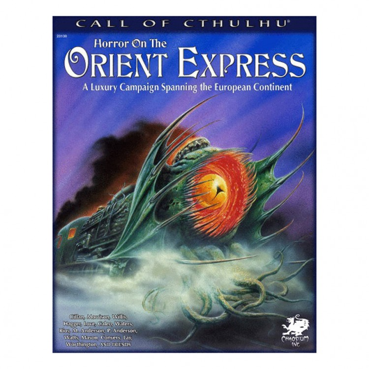CoC: Horror on the Orient Express
