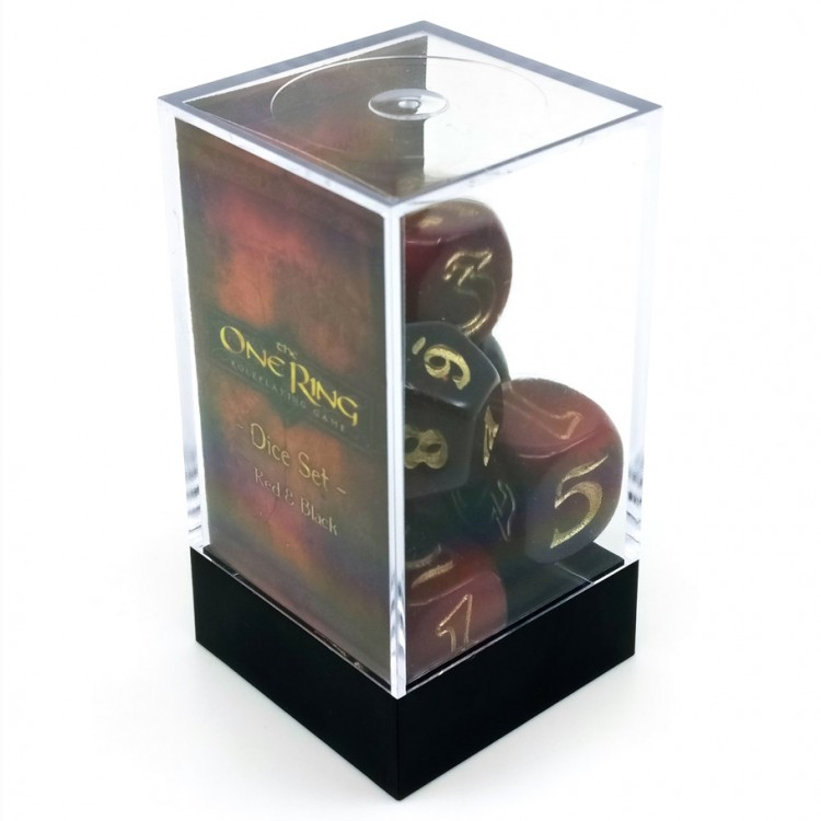 One Ring Dice Set RDBKgd