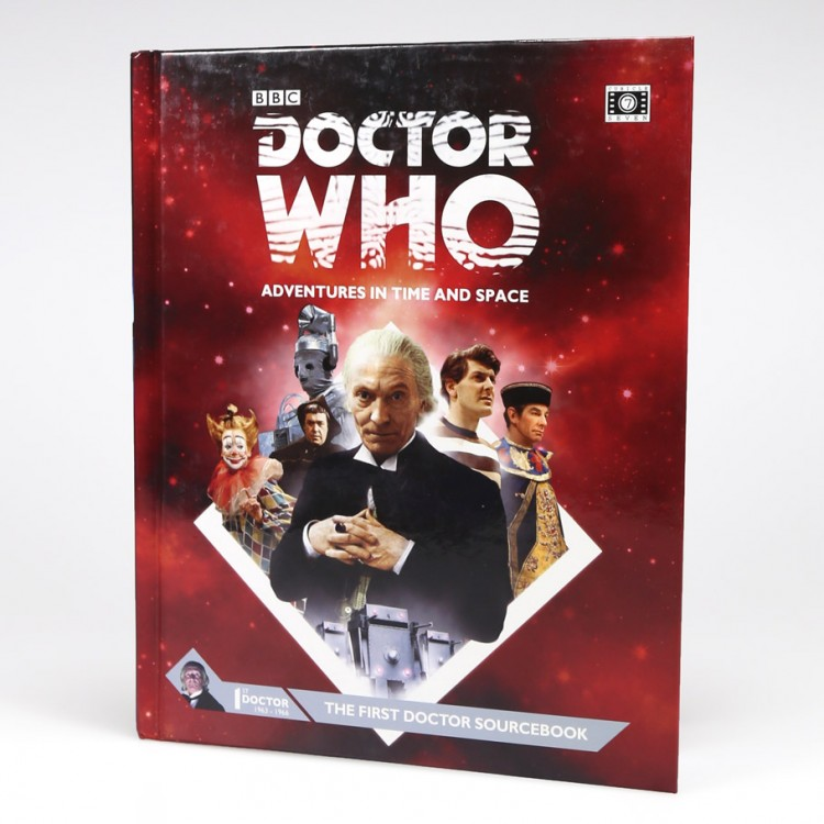 Dr. Who: The First Doctor Sourcebook